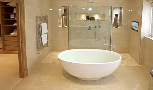Подогрев пола Ванная комната